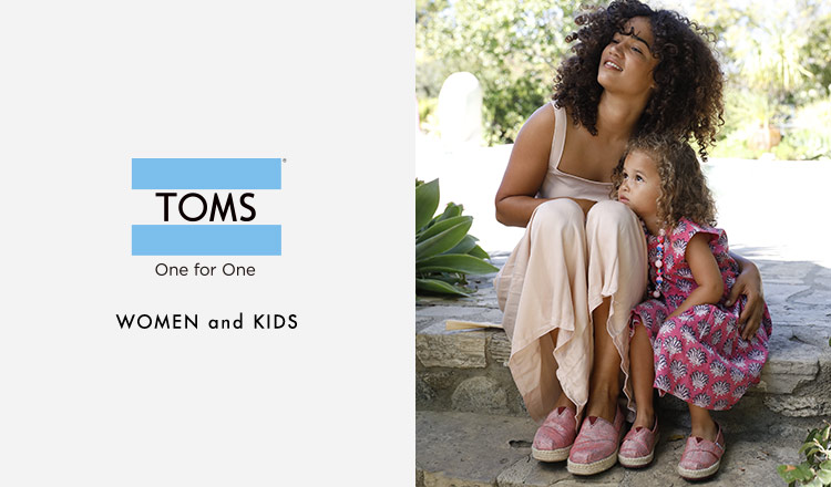 TOMS WOMEN and KIDS