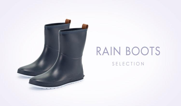 RAIN BOOTS SELECTION