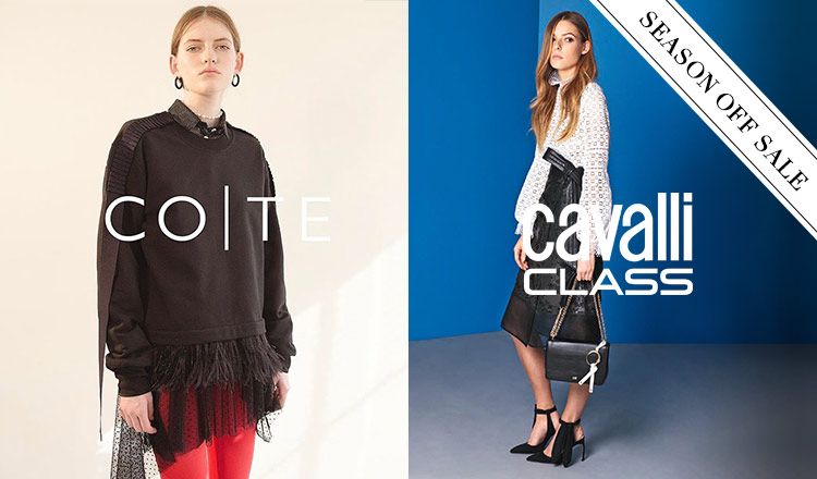 CAVALLI CLASS / COTE and more_OFF SEASON ITEM