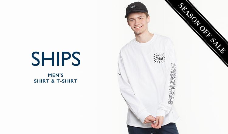 SHIPS MEN'S SHIRT & T-SHIRT