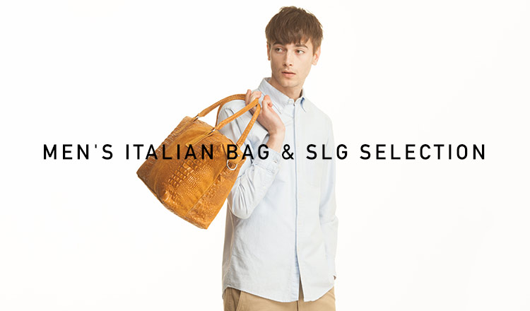 MEN'S ITALIAN BAG & SLG SELECTION