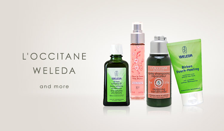 L'OCCITANE/WELEDA and more