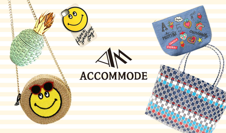 ACCOMMODE_SUMMER MUST HAVE -BAG&SHOES&ACCESSORY-
