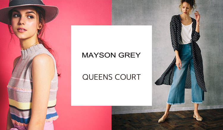 MAYSON GREY/QUEENS COURT -SHOES SELECTION-