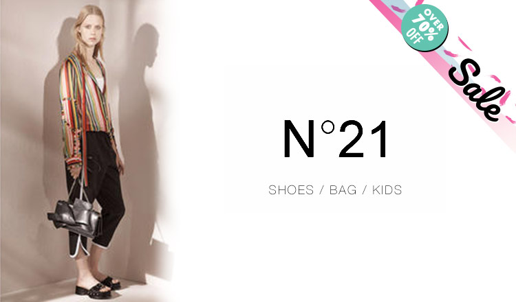 N°21 SHOES/BAG/KIDS_OVER 70%OFF_APPAREL
