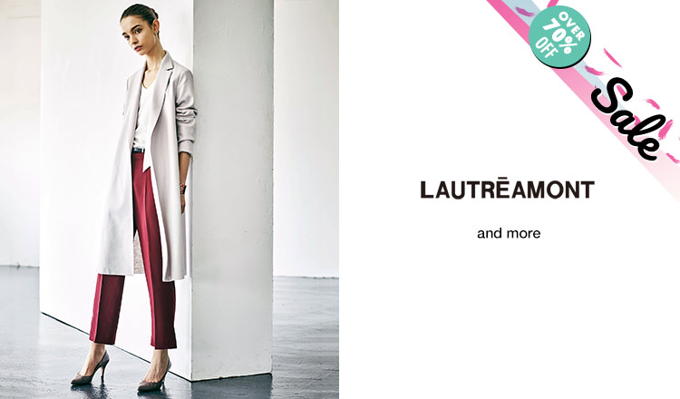 LAUTREAMONT_OVER 70%OFF_APPAREL