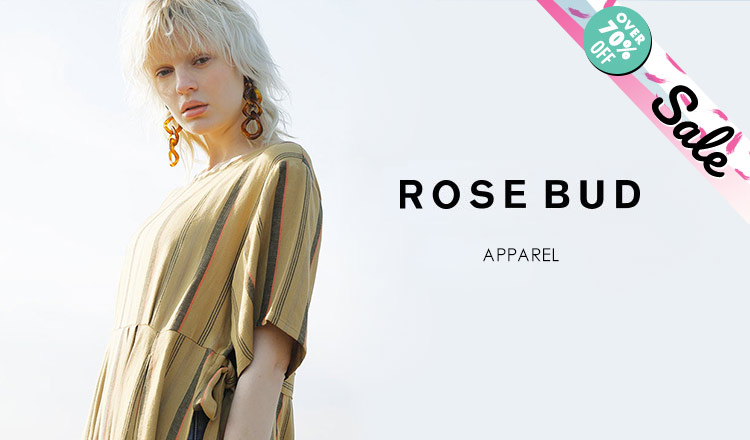 ROSE BUD_OVER 70%OFF_APPAREL