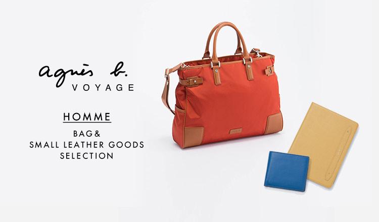 AGNES B.VOYAGE HOMME BAG&SLG SELECTION
