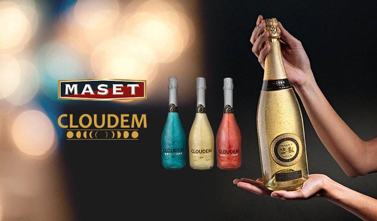 PARTY SPARKLING WINE -MASET&CLOUDEM-