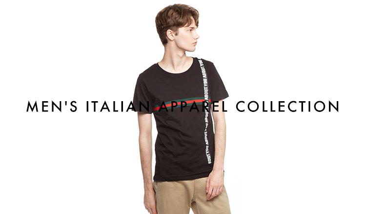 MEN'S ITALIAN APPAREL SELECTION