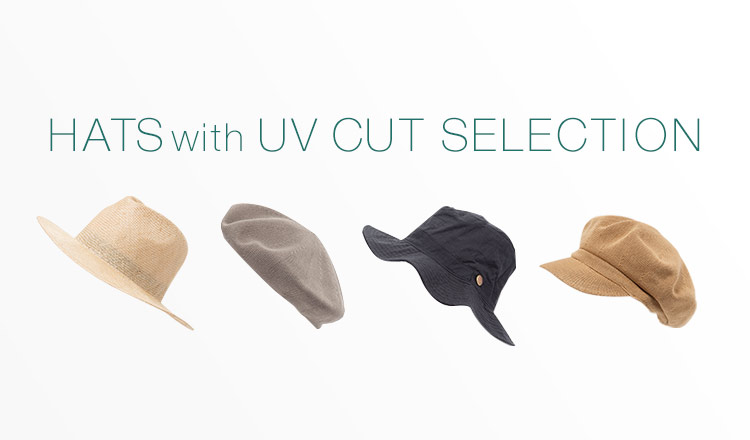 HAT WITH UV CUT SELECTION