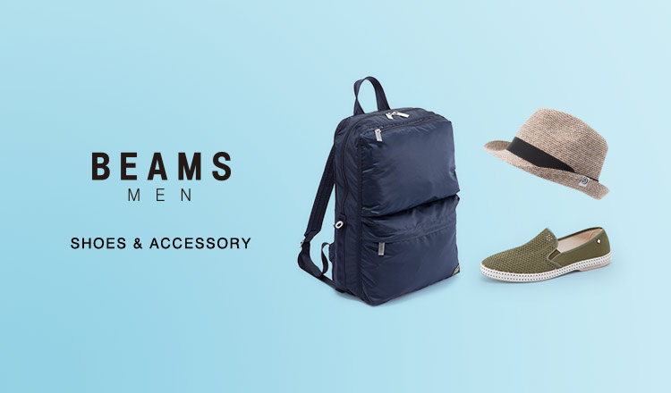 BEAMS MEN -SHOES & ACCESSORY-