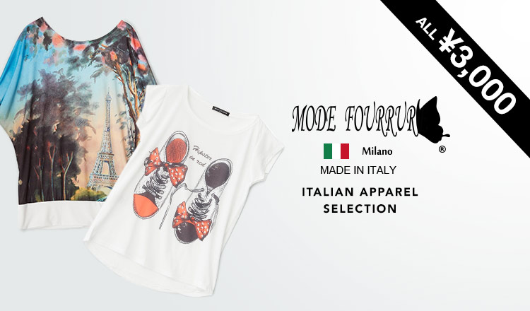MODE FOURRURE -ITALIAN APPAREL ALL¥3,000