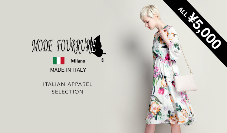 MODE FOURRURE -ITALIAN APPAREL ALL¥5,000