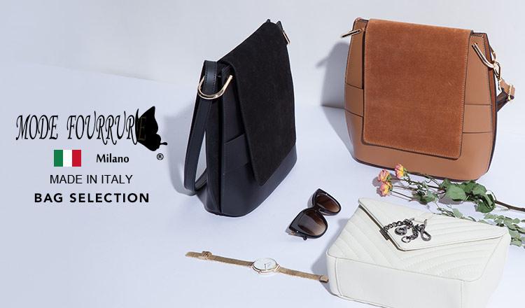 MODE FOURRURE -ITALIAN BAG ALL¥15,000