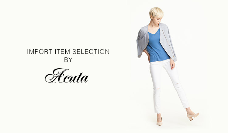 IMPORT ITEM SELECTION BY ACUTA