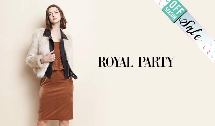 ROYAL PARTY_OFF SEASON ITEM