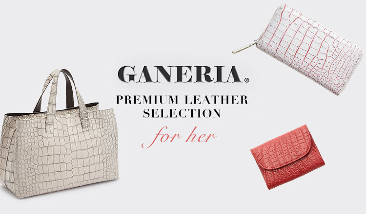 GANERIA PREMIUM LEATHER SELECTION FOR HER