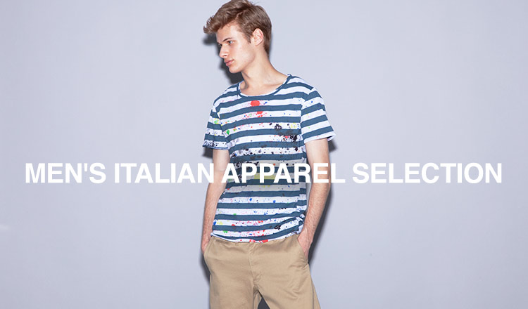 MEN'S ITALIAN APPAREL SELECTION