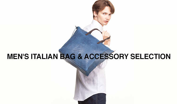 MEN'S ITALIAN BAG & ACCESSORY SELECTION