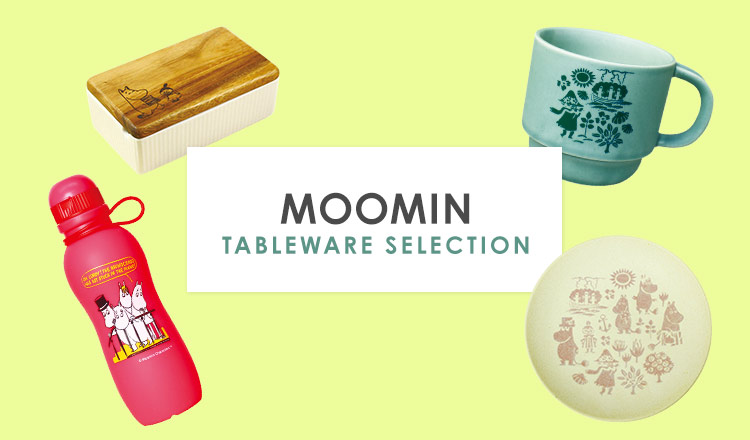 MOOMIN TABLEWARE  SELECTION