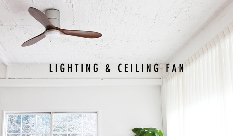 LIGHTING & CEILING FAN(CEILING FAN)