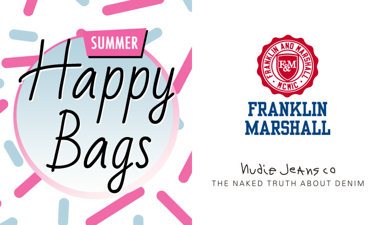 FRANKLIN MARSHALL/NUDIE JEANS_HAPPY BAG
