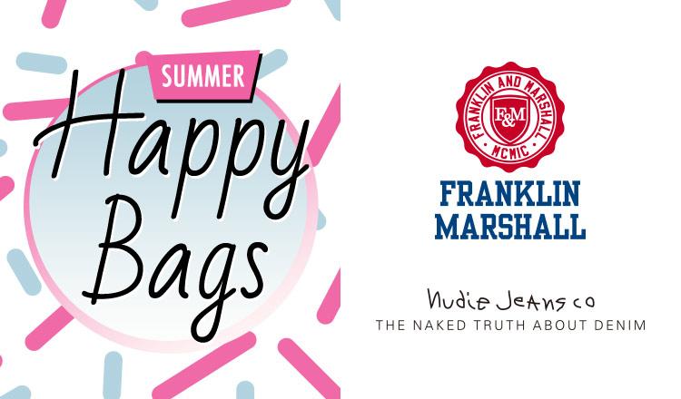 FRANKLIN MARSHALL/NUDIE JEANS_HAPPY BAG