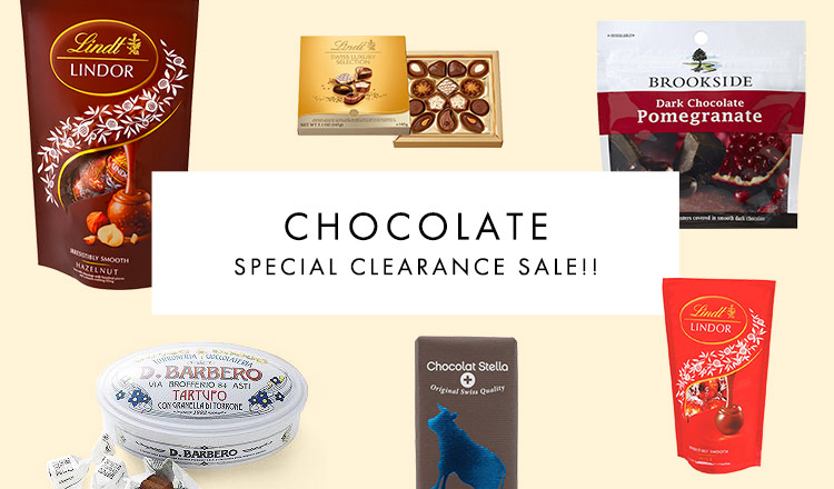 CHOCOLATE SPECIAL CLEARANCE SALE!!