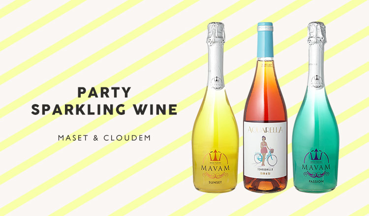 PARTY SPARKLING WINE MAVAM & VIVIUS and more