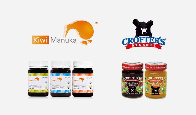 高品質マヌカハニー -Kiwi MANUKA HONEY-/オーガニックジャム -CROFTER'S-