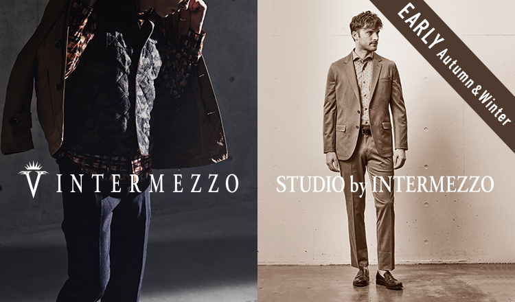 INTERMEZZO/STUDIO BY INTERMEZZO_EARLY AUTUMN & WINTER_MEN