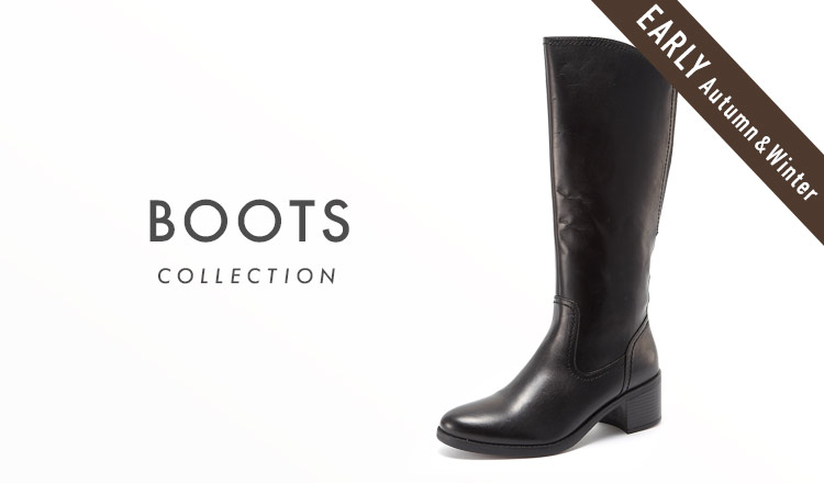 BOOTS COLLECTION_EARLY AUTUMN & WINTER
