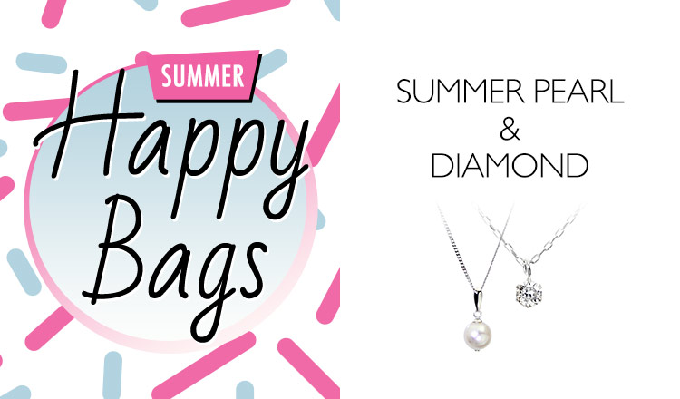 SUMMER PEARL & DIAMOND_HAPPY BAG