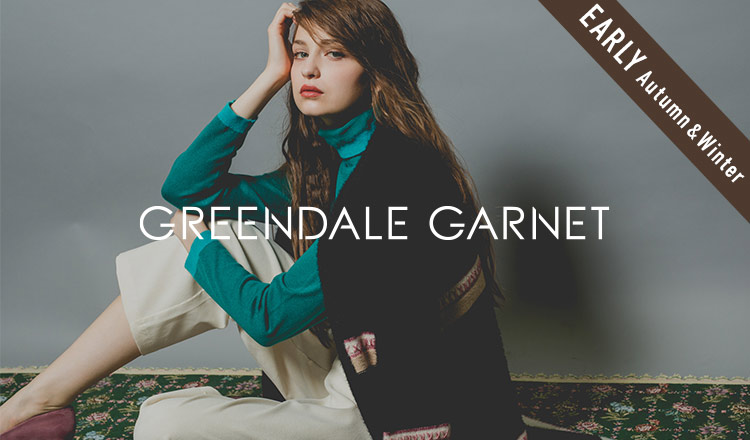 GREENDALE GARNET_EARLY AUTUMN & WINTER