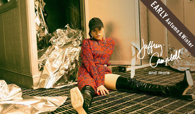 JEFFREY CAMPBELL -EARLY AUTUMN & WINTER-