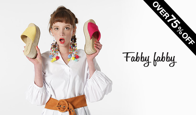 OVER 75% SALE BY FABBY FABBY