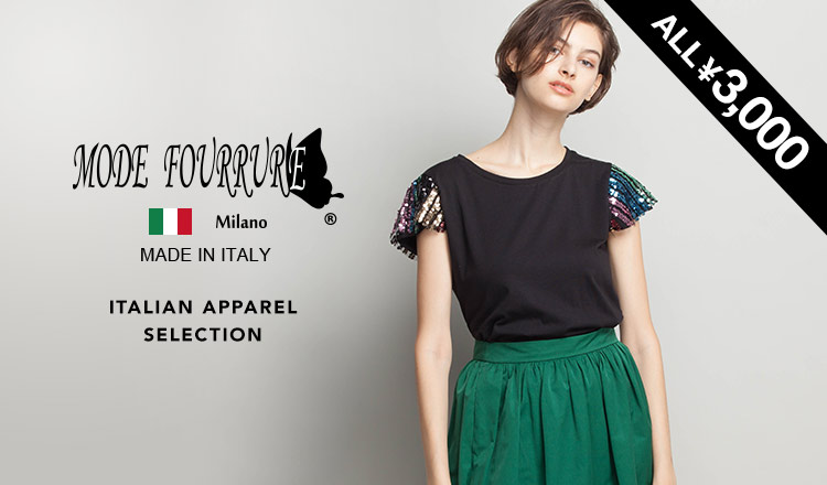 MODE FOURRURE -ITALIAN APPAREL ALL ¥3,000