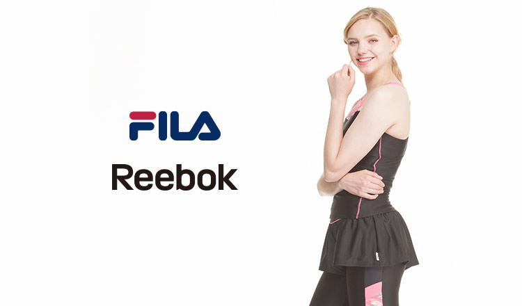 FILA/REEBOK FITNESS SWIMWEAR