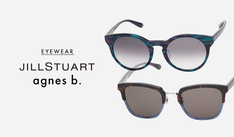 JILLSTUART/AGNES B. -EYEWEAR