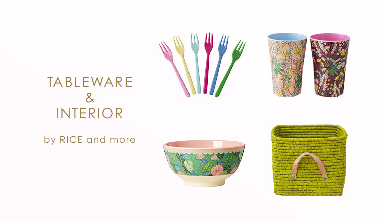 TABLEWARE & INTERIOR BY RICE & MORE