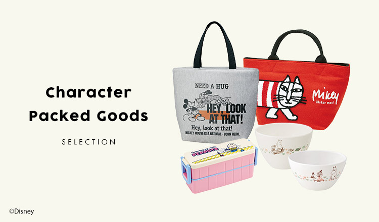 Character Packed Goods SELECTION