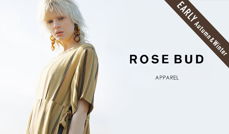 連携 ROSE BUD_EARLY AUTUMN & WINTER_APPAREL
