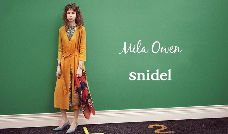 MILA OWEN/SNIDEL