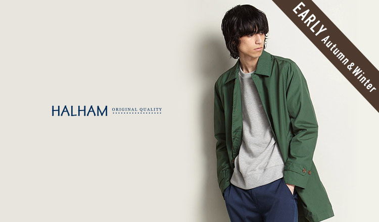 HALHAM_EARLY AUTUMN & WINTER_APPAREL