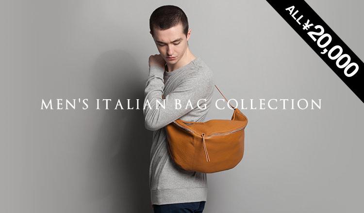 MEN'S ITALIAN BAG -ALL ¥20,000