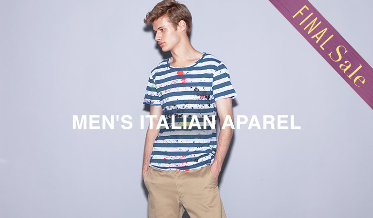 MEN'S ITALIAN APAREL FINAL SALE