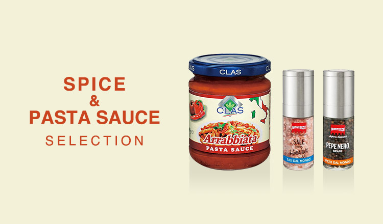 SPICE & PASTA SAUCE SELECTION