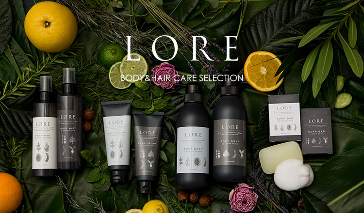 LORE BODY&HAIR CARE SELECTION