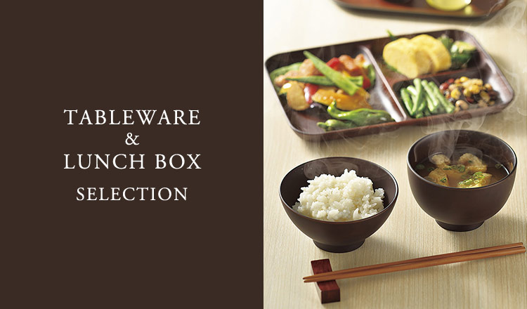 TABLEWARE & LUNCH BOX SELECTION